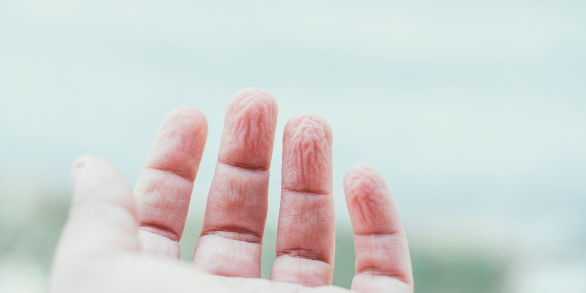 wrinkle-finger